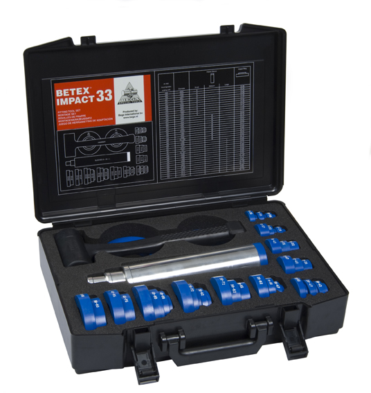 Betex Impact 33 Fitting Toolset - Bega Special Tools